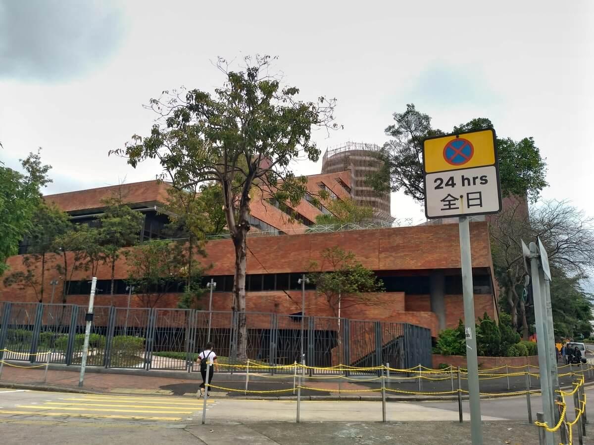 巨大な香港理工大学