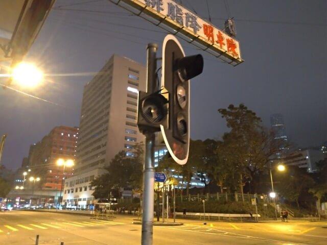 破壊される香港の街
