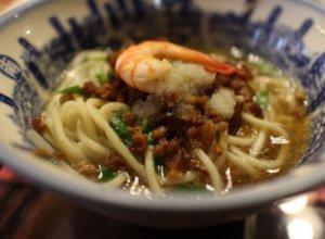 台南グルメのおすすめ「担仔麺」