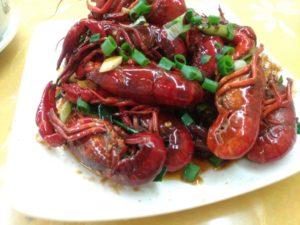 小龙虾(ザリガニ)