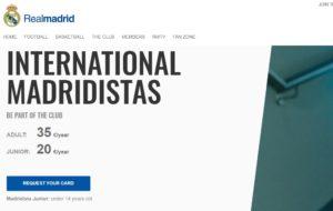 マドリディスタ(Madridistas)に登録する
