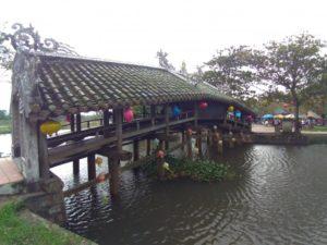 タントアン橋(フエの日本橋)
