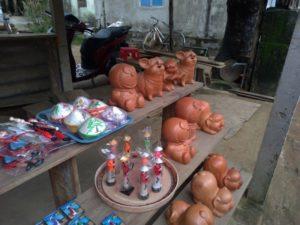 陶器作りの体験