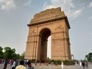 デリーにもある「インド門」
