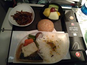 機内食が美味い