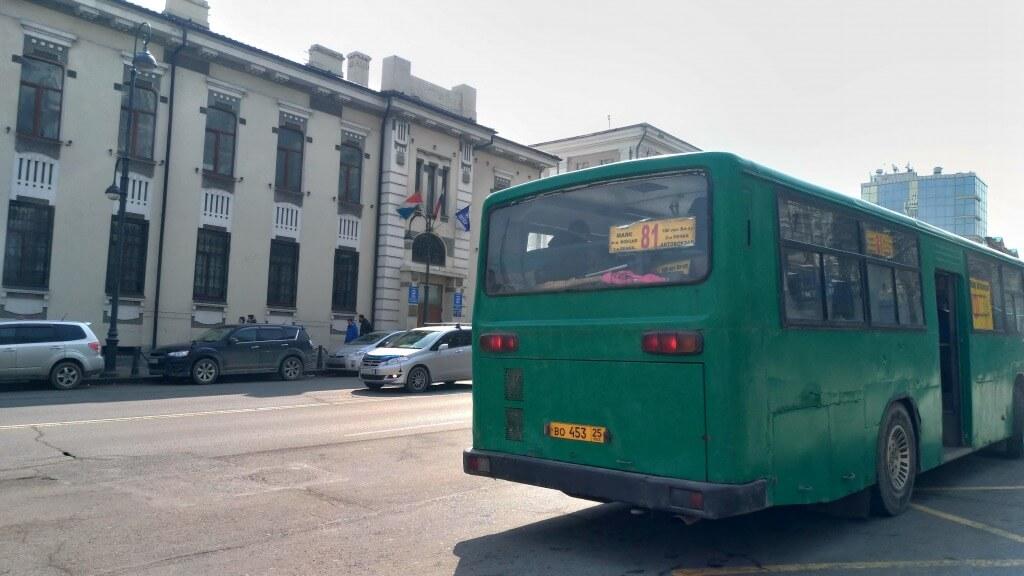 ①公共交通がバスしかない