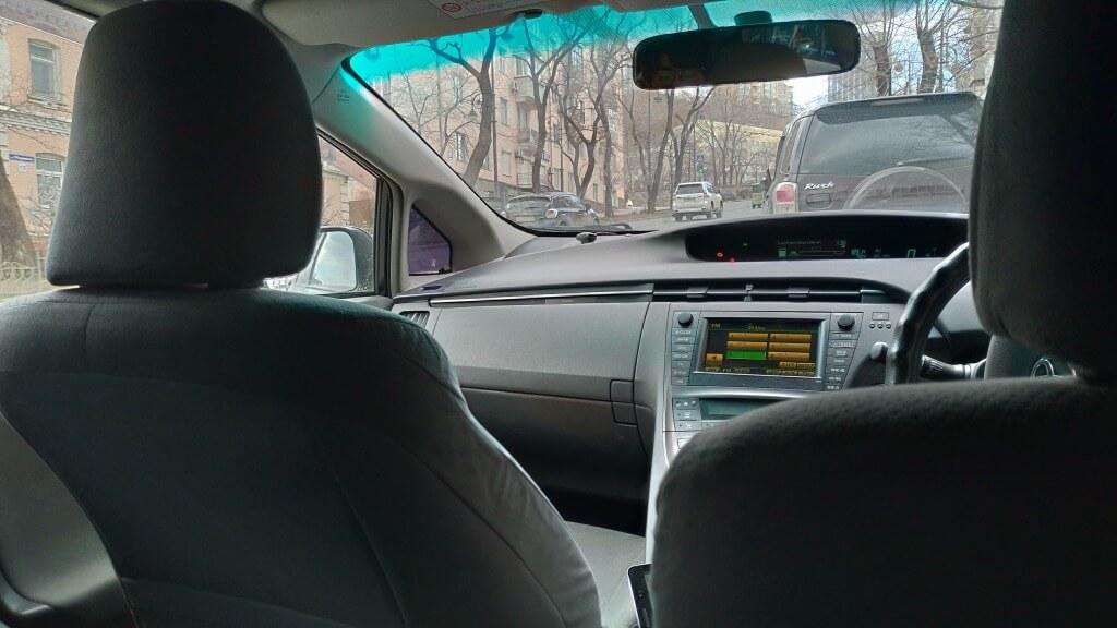 ④運転手と会話をする必要がない