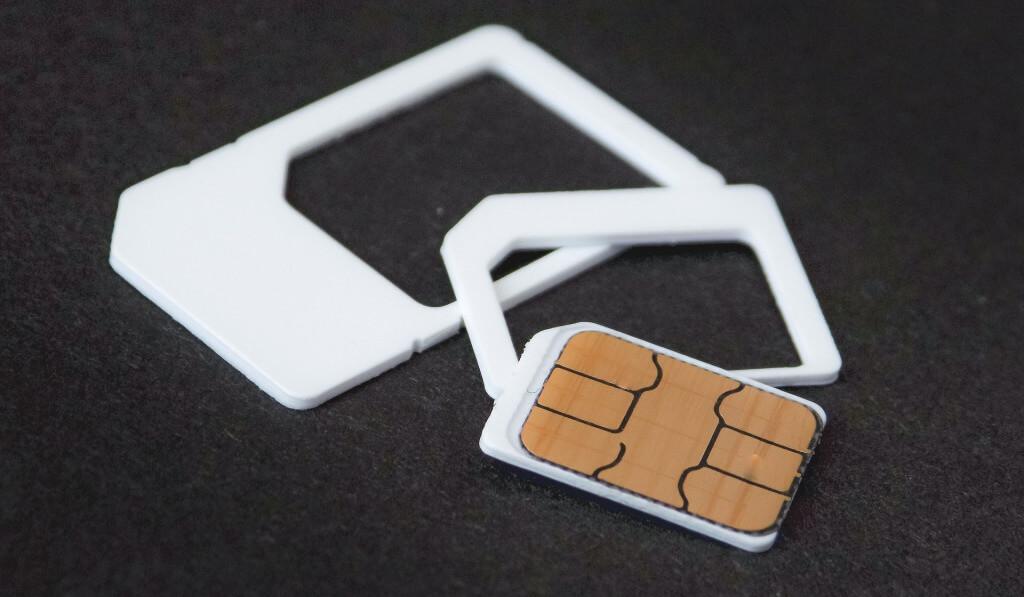 SIMカードの形状