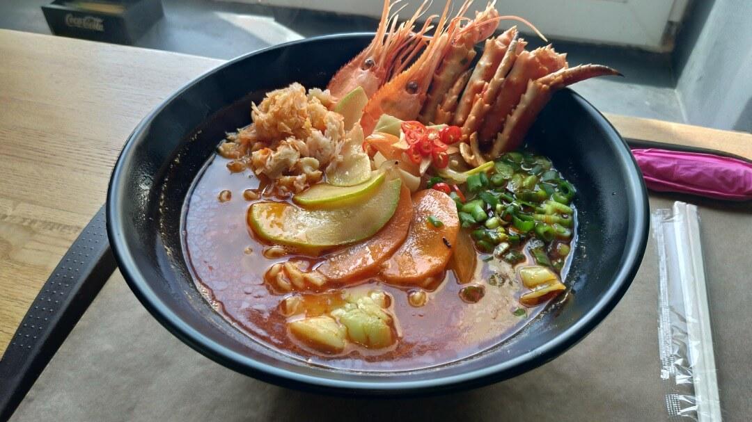 「RAMEN HASU」 海鮮ラーメン
