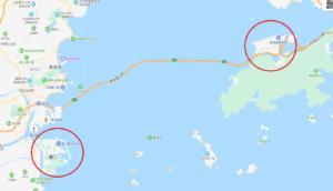 マカオから香港までバスで移動する方法